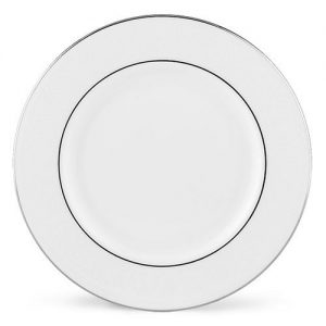 Platinum band dinner plate single