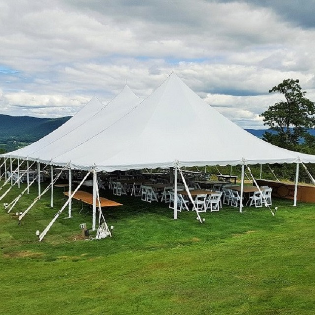 Super High Peak White Wedding Tents Affordable Events