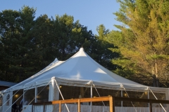 tent with clear side walls